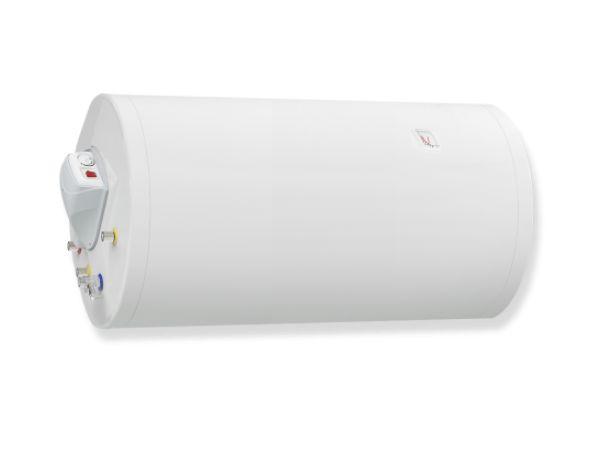 Бойлер ЕЛДОМ 200 л, 3 kW, емайлиран, комбиниран нагревател, серпентина, хоризонтален